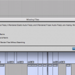 Missing Files - Pro Tools