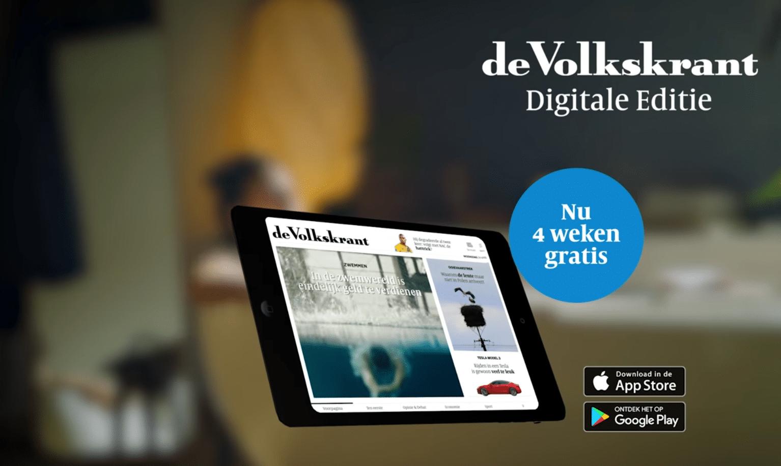 commercial | Volkskrant